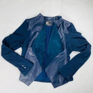 Kut from the Kloth Waterfall Vegan Leather Jacket
